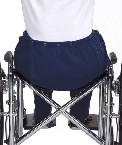 Pants - Women's Wheelchair Pant Clothing - Adaptive Open Back Fleece Pants- (size: From Small To XLarge)