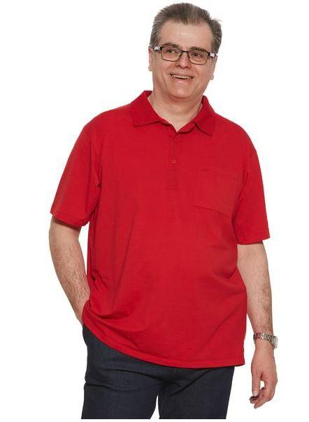 Polo Shirt - Men's Polo Shirt  - Red (Size: From Small To XXLarge)