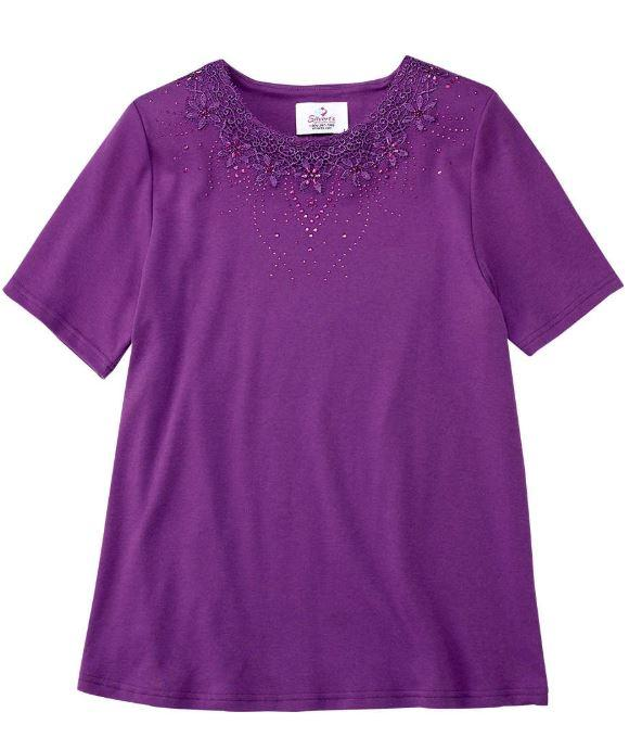 Shirts - Women's Fashion Adaptive T - Shirt Top (Size: Medium Only)
