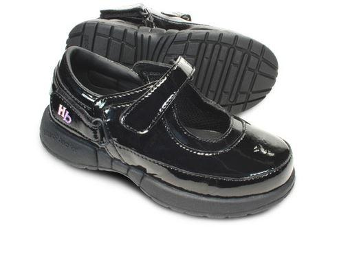 Shoes - Ava Girls Shoe : Patent Black Toddler (Size: Child 5 - 8 Only)