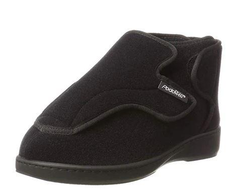 Slippers - Men's Adjustable Slippers  - Black | Altitude (size: From 6 To 11)