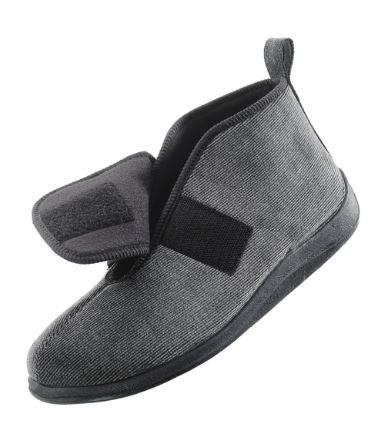 Slippers - Men's Wide Slippers- Extra Wide Extra Deep Fit (size: From 7 To 13)