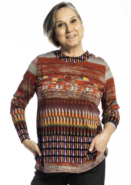 Sweater - Women's Adaptive Aztec Pattern Sweater (size: From XSmall To Medium)