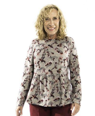 Sweater - Women's Adaptive Sweater - Gathered At The Front (size: From XSmall To XLarge)