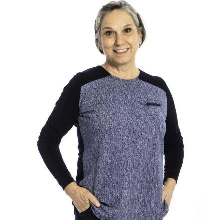 Sweater - Women's Adaptive Two-Color Sweater (size: From XSmall To XLarge)