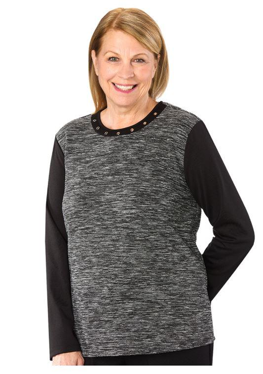 Sweater - Women's Stylish Adaptive Sweater (size: Medium And Large)