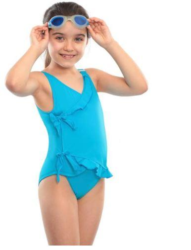 Swim Wear - Girl's Kes-Vir Waterfall Swimsuit (from Ages 3 - 16 )