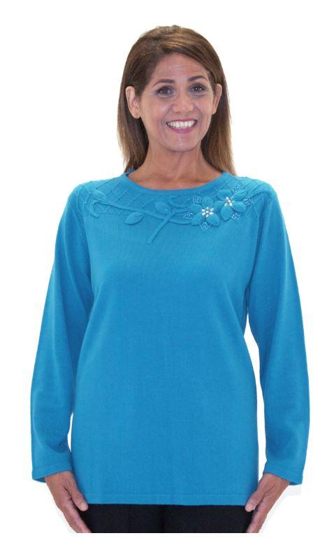 Tops - Women's Adaptive Sweater Top  (size: Medium And XLarge)
