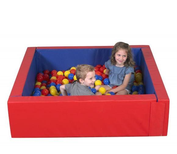 Toys - Corral Ball Pool - 500 Balls Included! - Provides Multi-sensory Stimulation And Encourages Social Interaction
