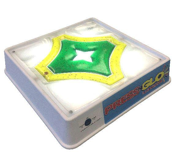 Toys - Press N Glo Illuminator With Sensory Star Gel Pad - Encourage Color Recognition Activities And Manipulation For Tactile Stimulation, While Improving Eye Hand Coordination And Hand/finger Strengthening