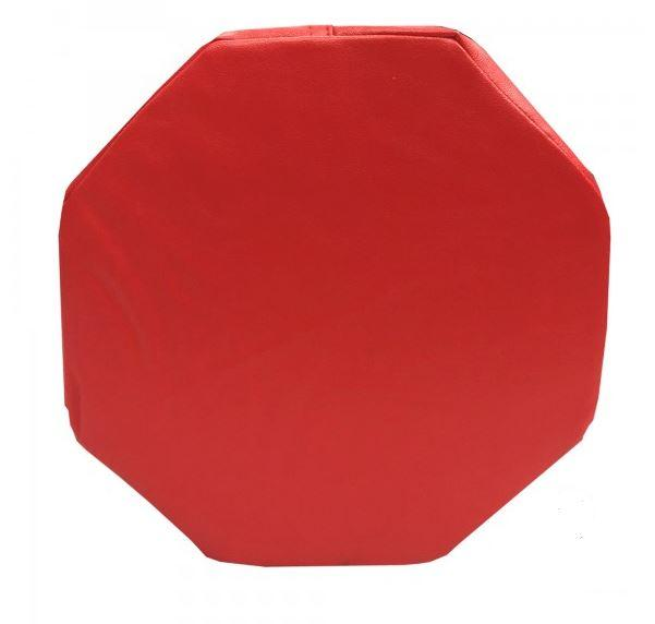 Toys - Senseez Vibrating Pillow - Red Octagon - Encourages Calmness, Lengthens Attention Span