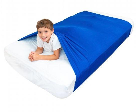 Toys - Sensory Bed Sheet For Kids Compression Alternative To Weighted Blankets