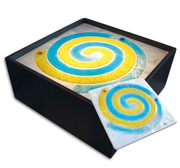 Toys - Spiral Sensory Gel Pad -Enhances Eye-hand Coordination, Improves Finger Strength And Dexterity