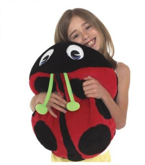 Toys - Vibrating Lady Bug Pillow - Provides Fantastic Sensory Feedback When Hugged And Also Used As An Effective Calmer