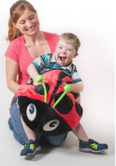 Toys - Vibrating Lady Bug Pillow - Soothing Vibrations To Regain Focus And Control.
