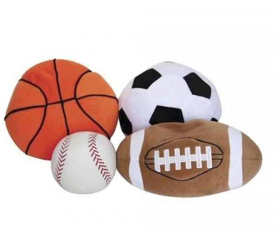 Toys - Weighted Sports Ball Set - Provides Deep Touch Pressure And A Calming Effect.