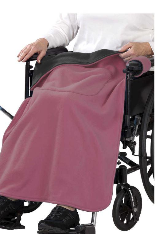 Wheelchair Cape - Wheelchair Blanket Cover For Women & Men - Lapwrap Wheel Chair Cover