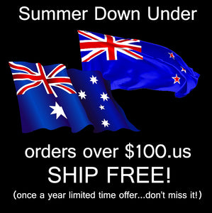 Free Shipping to OZ & New Zealand!!!