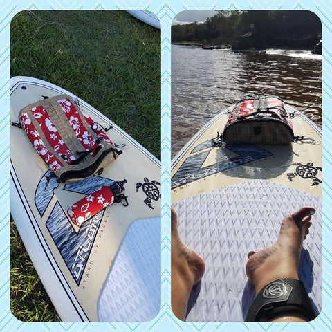 paddle board deck bag australia