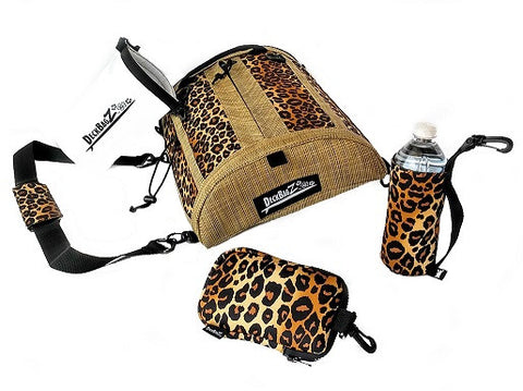 paddle board accessories kit leopard animal print