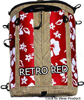 SUP deck bags retro red