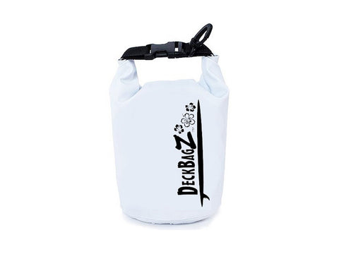 paddleboard dry bag white 5 liter