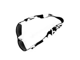 Neoprene Sunglass Strap - Retro Black