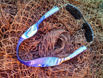haole purple neoprene sunglass strap