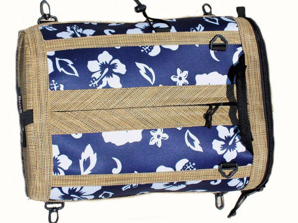 paddleboarding deck bag retro blue