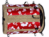 paddleboarding deck bags red retro