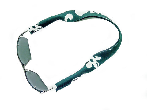 neoprene sunglass strap retro green