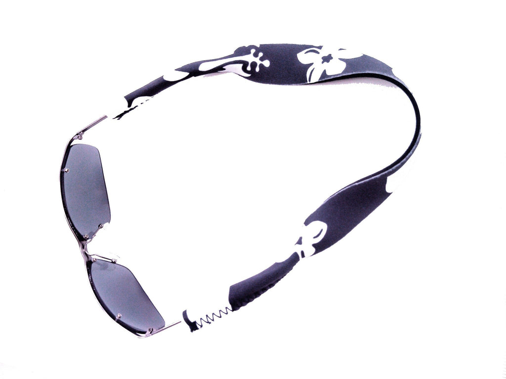 neoprene sunglass strap retro gray