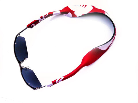 neoprene sunglass strap retro red