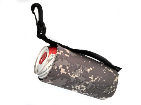 neoprene water bottle koozie tribute camo 16oz