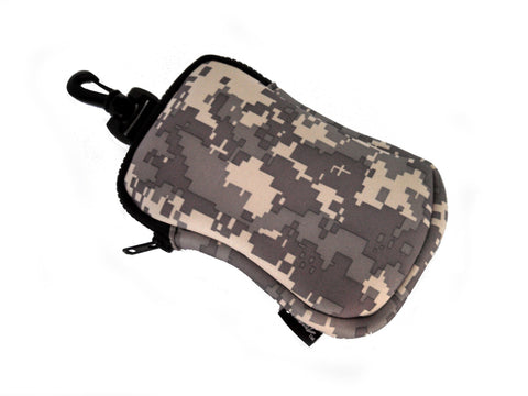hook on neoprene bag tribute camo