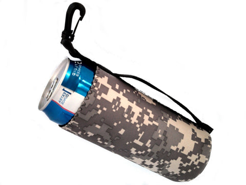 neoprene water bottle koozie 24oz tribute camo