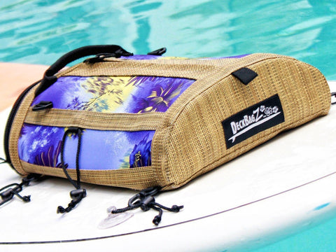 haole purple sup deck bag