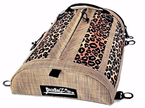 paddle board deck bag leopard
