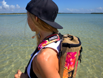 Back Pack by DeckBagZ - Haole Pink
