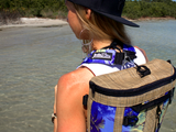 Back Pack by DeckBagZ - Haole Purple