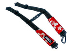 Backpack Straps - Retro Red
