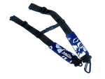 Backpack Straps - Retro Blue