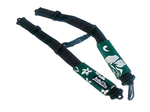 Backpack Straps - Retro Green