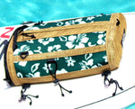 retro green sup deck bag