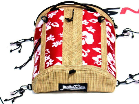 retro red sup deck bag