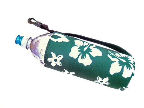 neoprene water bottle koozie 24oz retro green
