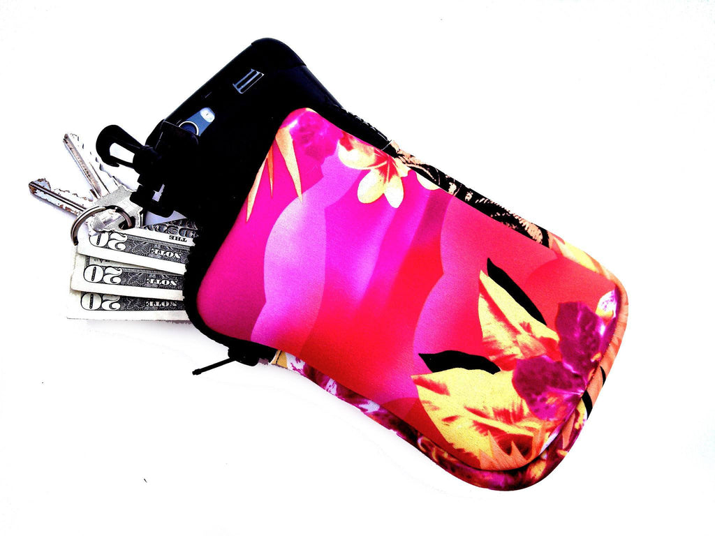 hook on neoprene bags haole pink
