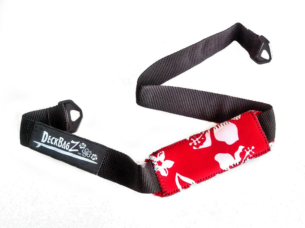 DeckBagZ Deck Bag Carry Strap - Retro Red