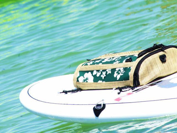 sup deck bags retro green