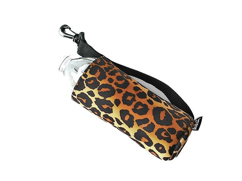 can cooler coozie leopard animal print 16 oz